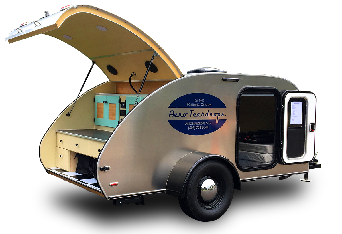 Custom Teardrop Trailers & Roof Top Tents | Aero Teardrops