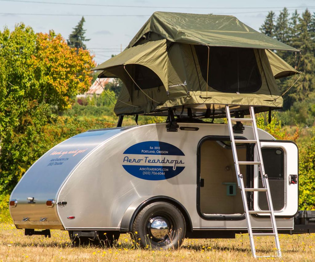Custom Teardrop Trailers Amp Roof Top Tents Aero Teardrops